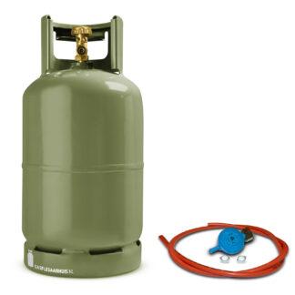 groene gasfles, gasfles kopen, gasdrukregelaar, gasfles 5kg, gasfles
