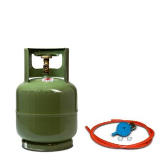 kleine gasfles, gasdrukregelaar, gasfles kopen, gasfles 2.5kg, gasfles
